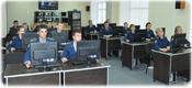 Работа курсантов в информационно-ситуационном центре