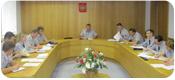 Совещание в зале Ученого совета института