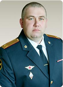 Врио заместителя начальника института по тылу работе Авдеев Виталий Валерьевич