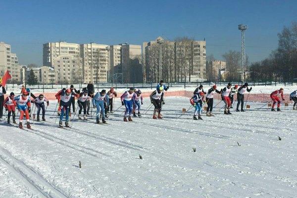 От Вологодского института права и экономики ФСИН России участвовало четыре лыжника