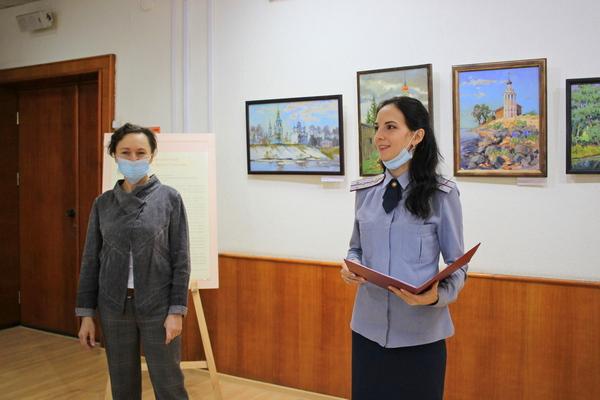 Выставка картин художницы Марии Ведясовой открылась в ВИПЭ ФСИН России