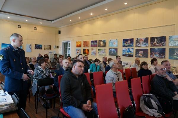 В мероприятии приняли участие обучающиеся ВИПЭ ФСИН России