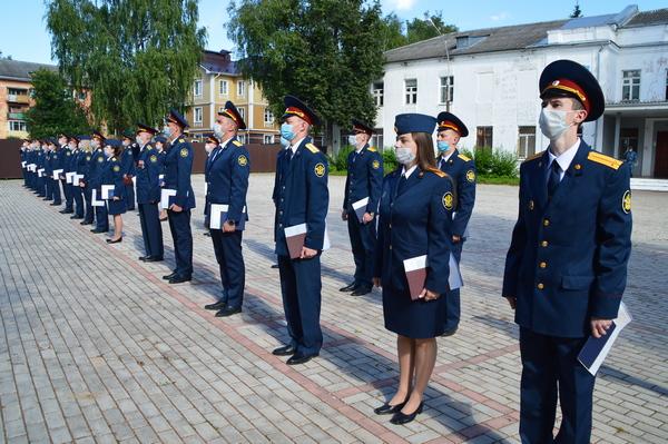 Выпускники УФСИН России по Вологодской области