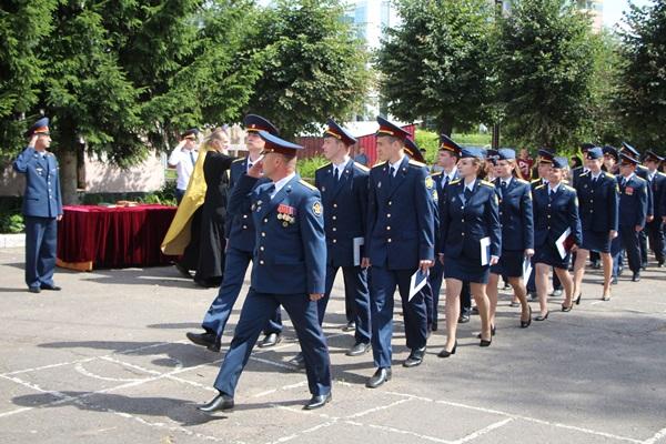 Торжественная церемония УФСИН России по Ярославской области