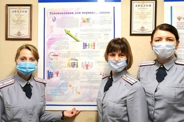 В помещениях, где проживают курсанты, размещены яркие плакаты, с информацией об адаптации