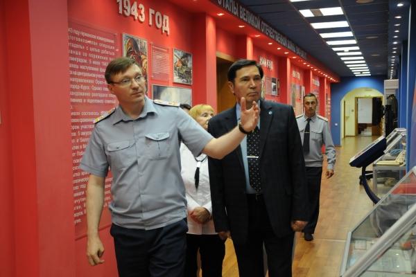 Одним из пунктов плана визита представителя Общероссийской общественной организации «Совет ОНК» стало посещение ВИПЭ ФСИН России.