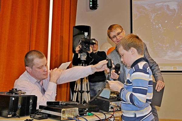 В преддверии Дня космонавтики в Вологде состоялся необычный праздник