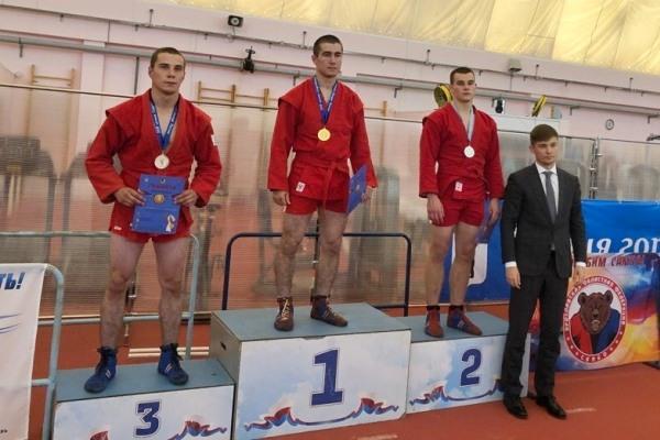 Михаил Демитров по итогам состязаний в самбо занял второе место.