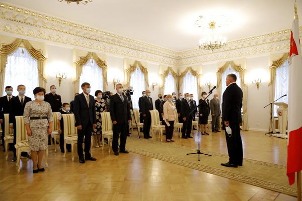 Накануне в Доме Губернатора состоялась церемония вручения государственных наград Российской Федерации, наград Президента Российской Федерации и Вологодской области