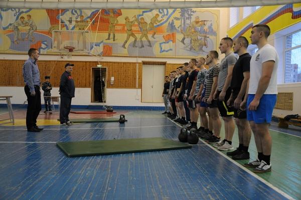 Соревнования по гиревому спорту в зачет Спартакиады