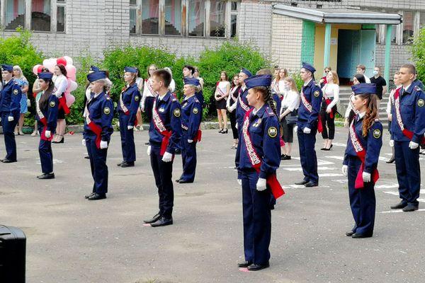 В Вологде состоялся первый выпуск двух кадетских классов УИС