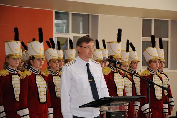 Начальник ВИПЭ ФСИН России Евгений Харьковский дал напутствие молодым офицерам на беззаветное служение Отечеству