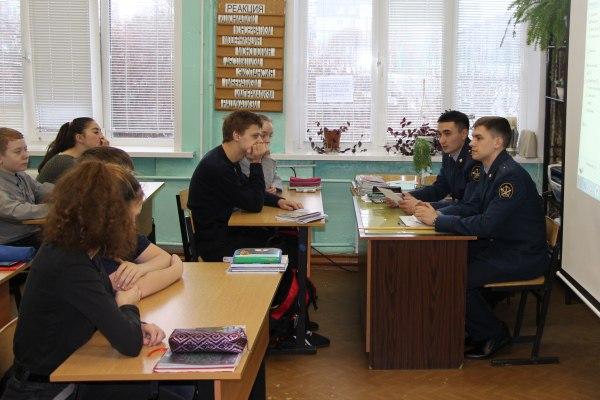 Курсантами были проведены различные мероприятия, направленные на повышение правовой грамотности несовершеннолетних правонарушителей