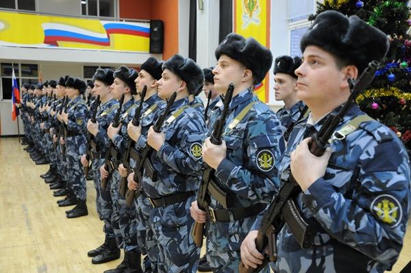 В ВИПЭ ФСИН России проведена торжественная церемония приведения к присяге сотрудников