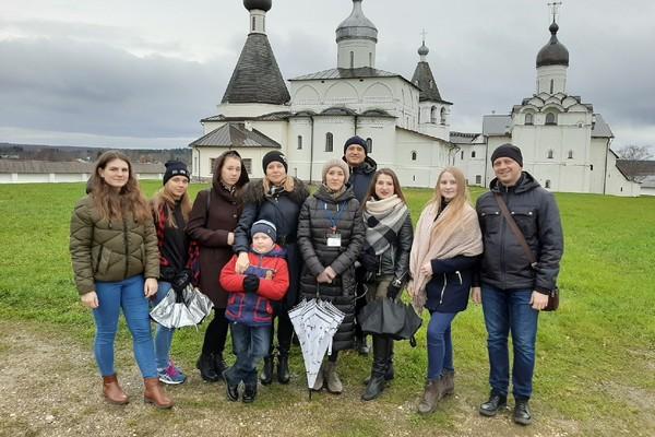 Туристическая группа посетила Кирилло-Белозерский и Ферапонтов монастыри