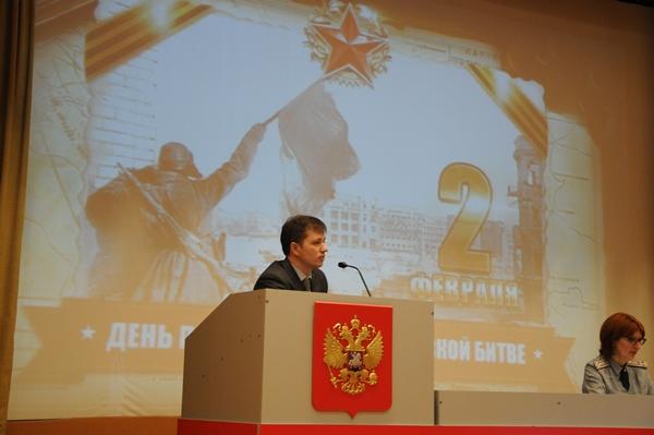 Мероприятия, посвященные 75-й годовщине разгрома немецко-фашистских войск под Сталинградом, проходят в ВИПЭ ФСИН России в течение недели
