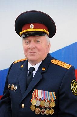 Председатель Совета ветеранов Виктор Григорьевич Гура