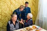 С 95-летием поздравили ветерана института курсанты ВИПЭ ФСИН России