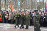 Память воинов-интернационалистов почтили в Октябрьском сквере Вологды