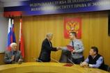 Личный состав ВИПЭ ФСИН России поздравил с юбилеем членов Совета ветеранов института
