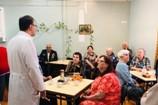 Курсанты и студенты ВИПЭ ФСИН России организовали праздник в областном госпитале для ветеранов воин