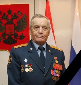 Почетный председатель Совета ветеранов Вениамин Александрович Лесихин