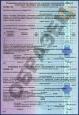 Образец ГЖС.  Государственный желищный сертификат.