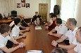 Начальник УФСИН России по Республике Северная Осетия-Алания провел личную встречу с участниками команды КВН « Зона комфорта»