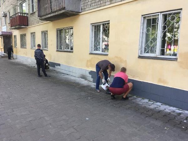 Помощь Дому ветеранов Биробиджана оказали осужденные, отбывающие наказание в виде принудительных работ при КП-4 УФСИН России по Еврейской автономной области