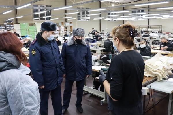 В ИК-12 ГУФСИН России по Свердловской области открылся новый швейный участок