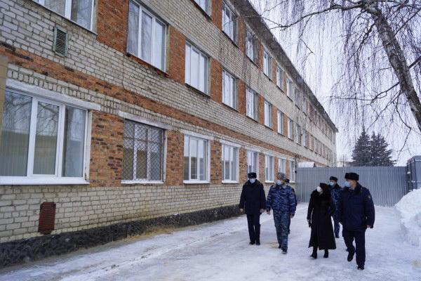 При КП-7 УФСИН России по Орловской области открыли участок, функционирующий как исправительный центр