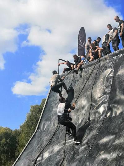 Сотрудники ГУФСИН России по Новосибирской области вошли в пятерку сильнейших команд «Гонки героев-2020»