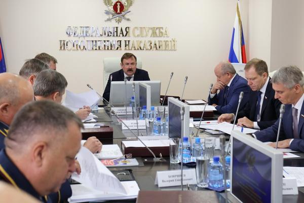 В ФСИН России состоялось заседание коллегии по вопросам расширения сети исправительных центров