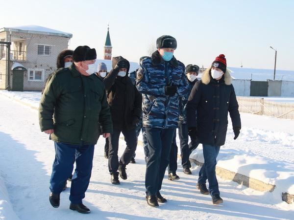 Глава Альметьевского района Республики Татарстан ознакомился с возможностями производственного сектора ИК-8 УФСИН России по Республике Татарстан