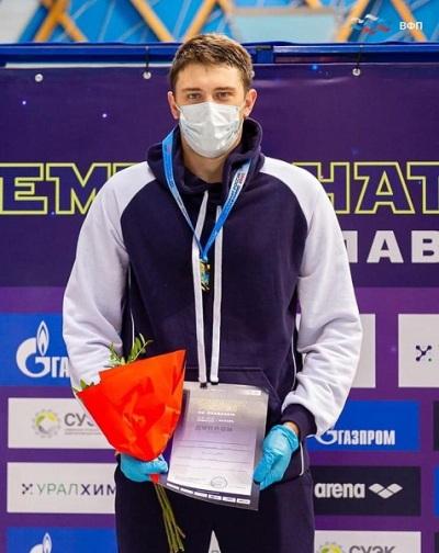 Сотрудник спецназа УФСИН России по Волгоградской области стал чемпионом России по плаванию на дистанции 50 метров брассом