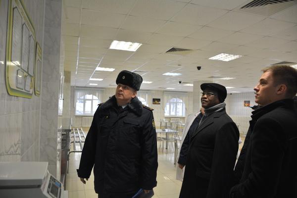 Учреждения УФСИН России по Московской области посетила делегация пенитенциарного ведомства Республики Намибия