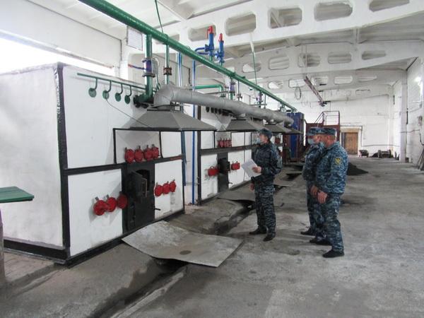 В ИК-28 УФСИН России по Республике Хакасия вели в эксплуатацию котельную