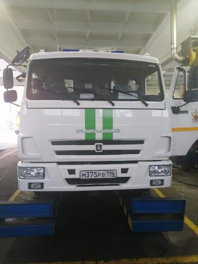 Три новых спецавтомобиля поступили в Управление по конвоированию ГУФСИН России по Свердловской области