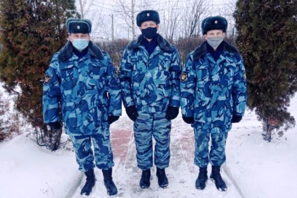 Сотрудники ИК-6 УФСИН России по Орловской области оказали помощь при тушении пожара
