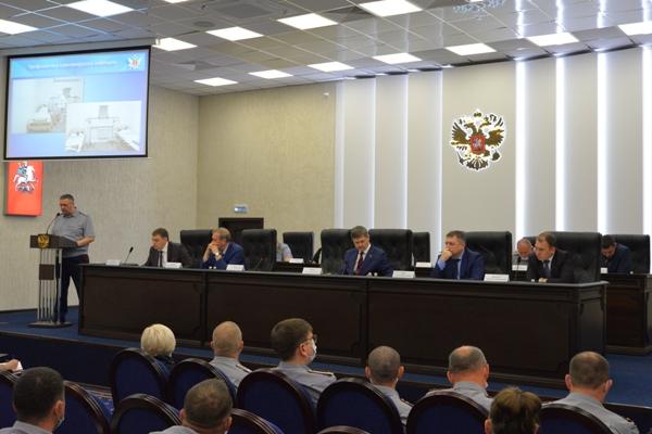 В УФСИН России по г. Москве состоялось заседание коллегии