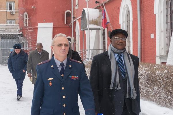 Делегация из Республики Намибия посетили СИЗО-2 УФСИН России по г. Москве