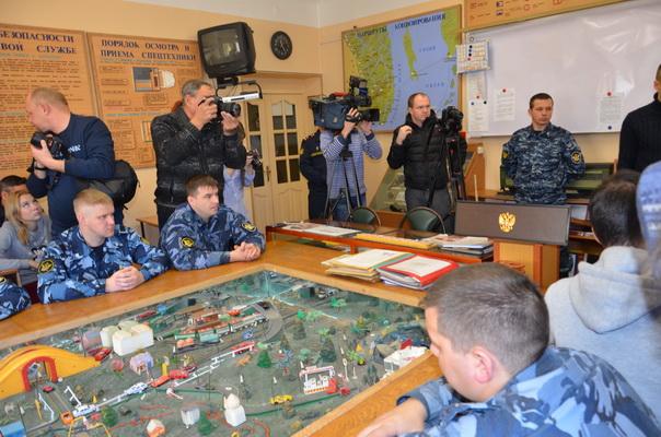 День открытых дверей для журналистов прошел в управлении по конвоированию ГУФСИН России по Приморскому краю