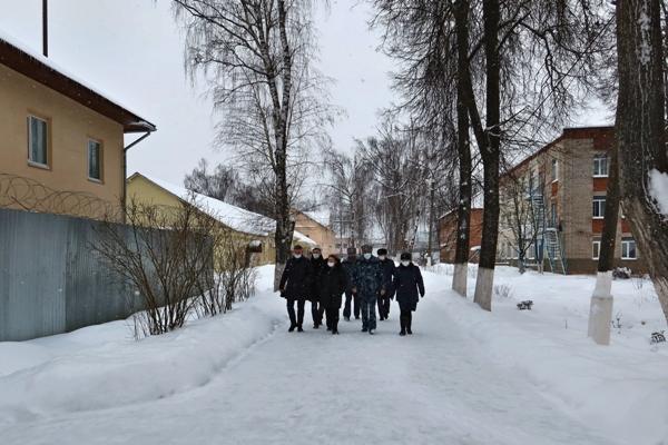Представители аппарата Уполномоченного по правам человека в Российской Федерации посетили с рабочим визитом ИК-5 УФСИН России по Московской области