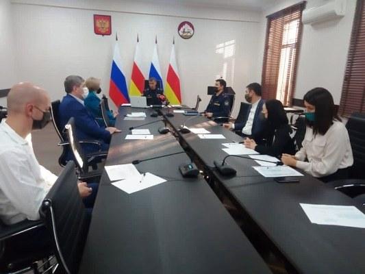 Начальник УФСИН России по Республике Северная Осетия-Алания провел рабочую встречу с членами ОНК