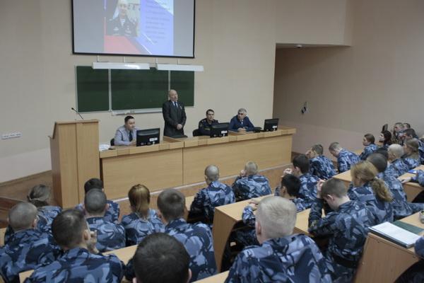 В Пермском институте ФСИН России прошел «Урок мужества» с Героем Российской Федерации Александром Черепановым