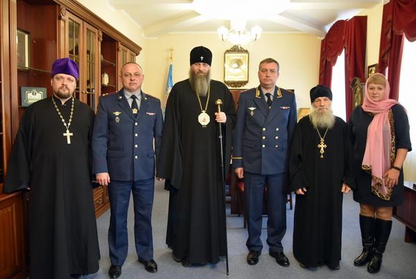 Начальник ГУФСИН России по Новосибирской области встретился с митрополитом Новосибирским и Бердским Никодимом