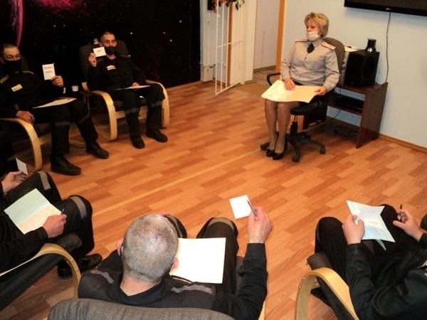 В ЛИУ-19 УФСИН России по Республике Мордовия продолжается внедрение программы социально-психологической работы в отношении лиц, имеющих алкогольную и наркотическую зависимость