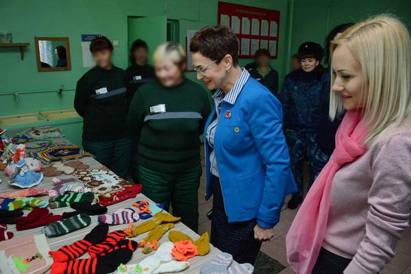 Союз женщин Камчатки вновь посетил женскую исправительную колонию №7
