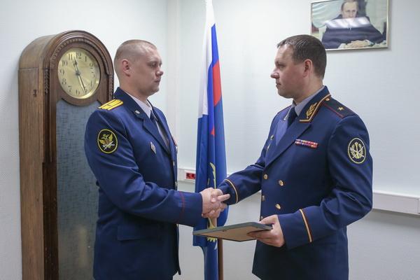майор внутренней службы Сергей Рылов