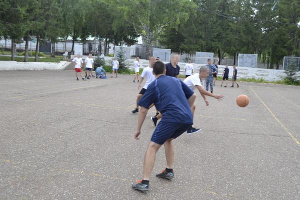 В Стерлитамакской воспитательной колонии УФСИН России по Республике Башкортостан состоялся турнир по стритболу